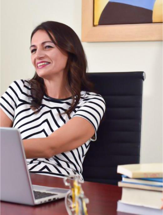 Tania Franco especialista en brindar cursos de Team Building para empresasa