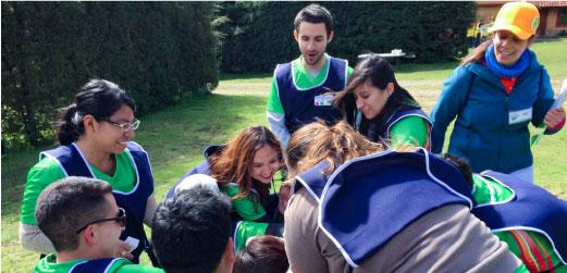 Curso de Team Building en México realizado por Interior84 Tecnologias para el bienestar